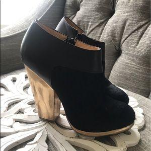 Cole Haan Calf Hair Heels Boots Woman's 7